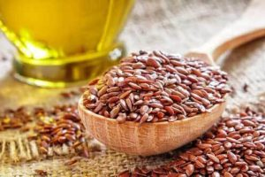 Flax Seed Oil CAS No.: 8001-26-1 with high Alpha Linolenic Acid